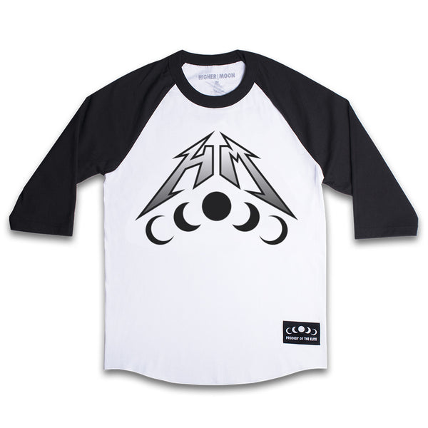 HM Raglan in White