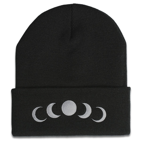 Phases Beanie in Black