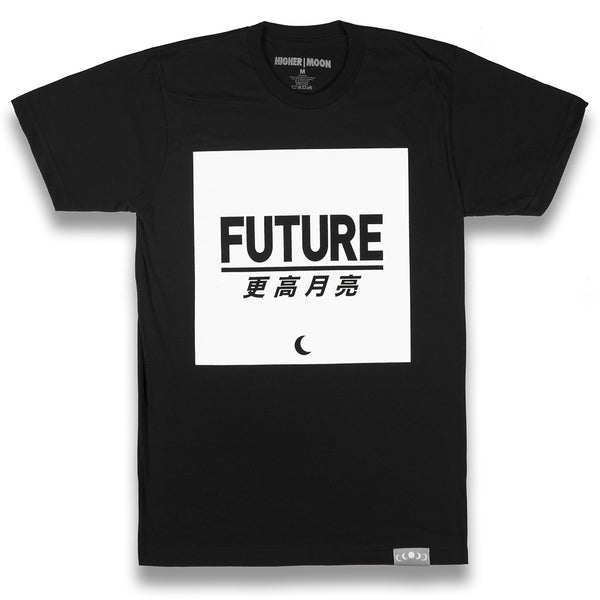 Future Box Tee in Black