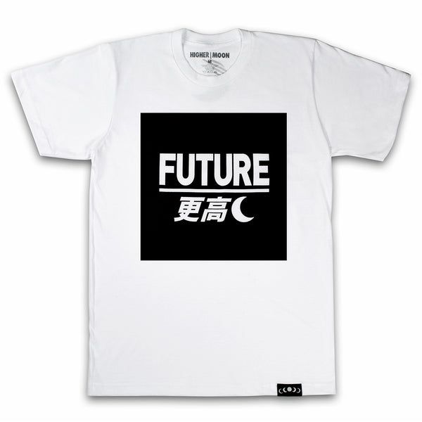 Future Box Tee in White