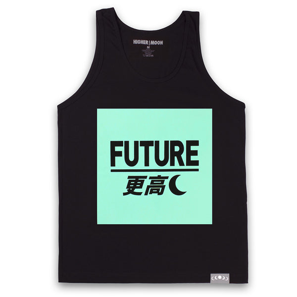 Future Box Tank Top in Black