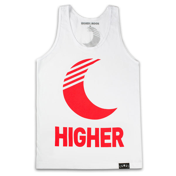 New Moon Tank Top in White