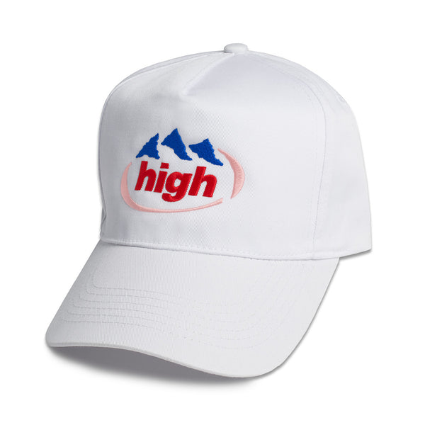 High Snapback in White