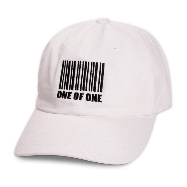 One Of One Strapback in White