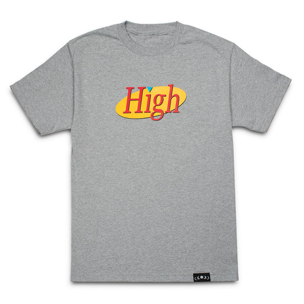 High Tee in Heather Grey