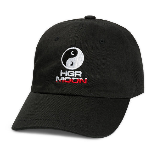 Yin-Yang Strapback in Black