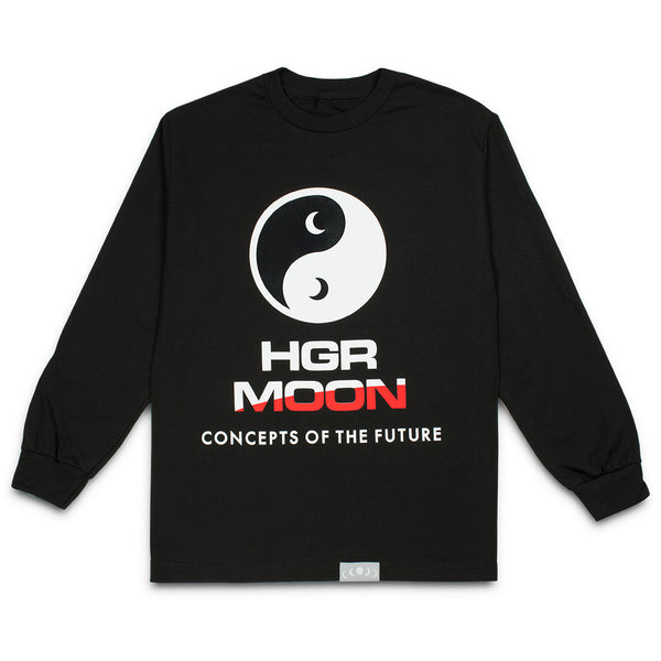 Yin-Yang Longsleeve in Black