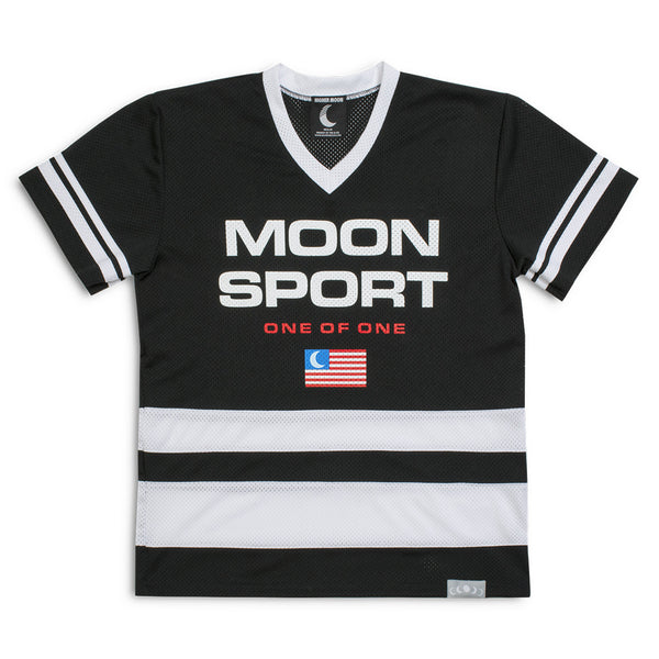 Moon Sport Hockey Jersey in Black