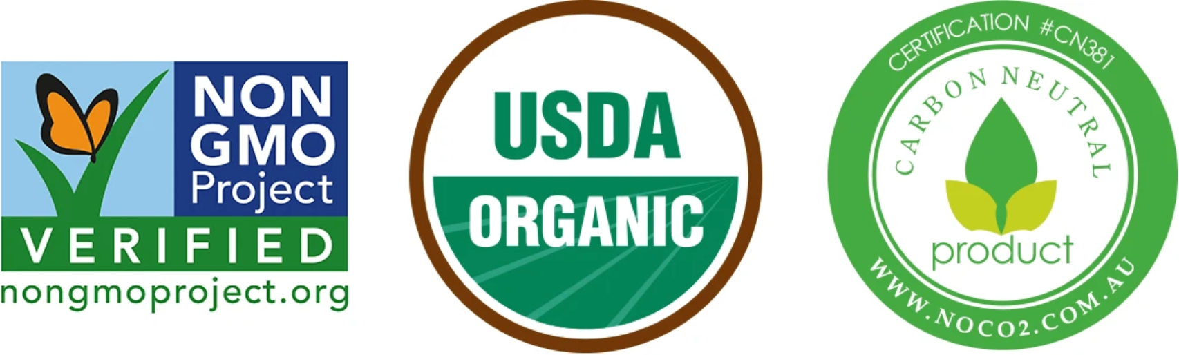 Organic Grass-fed Top Sirloin Steak non-gmo project verified usda organic carbon neutral animal welfare Certifications