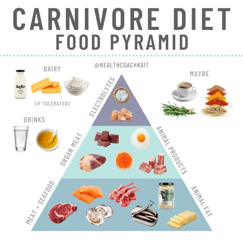 carnivore-diet-food-pyramid-animal-fats-animal-based-diet-meat-proteins-fish