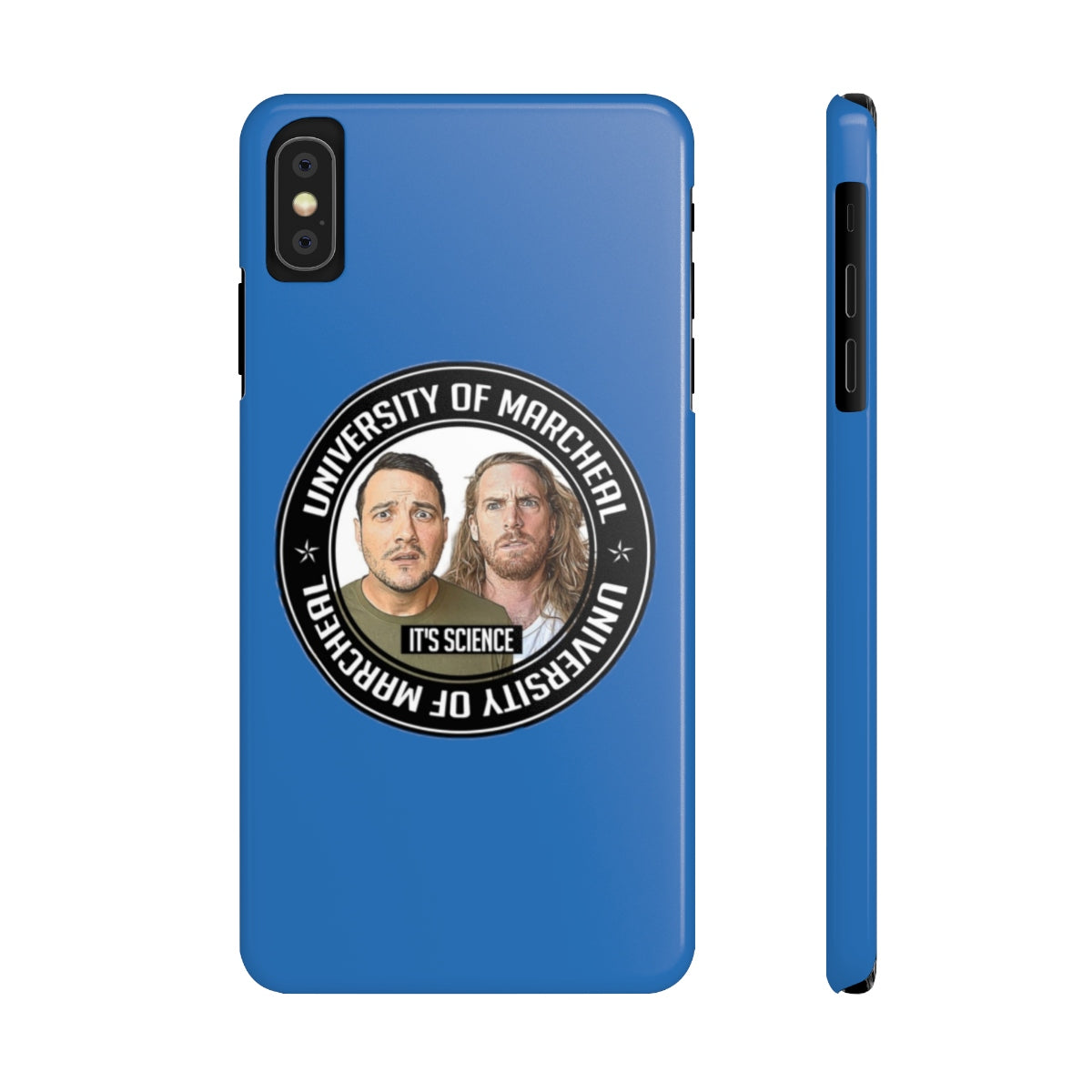 PHONE CASE - ROYAL BLUE (iPhone X, 5 and Samsung S9, S5)