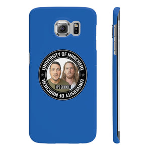 PHONE CASE - ROYAL BLUE (IPHONE 6, 7, 8 AND SAMSUNG S6, S7)