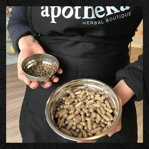 high quality custom made herbal capsules on Vancouver island