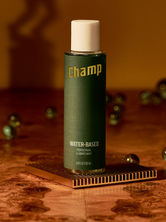 Water-based Lubricant. Our hypoallergenic formula gently moisturizes for a smooth and natural feel.