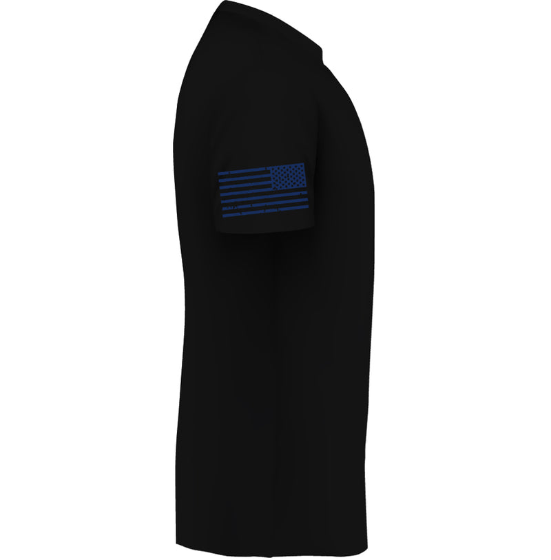 Back the Blue - Black - Mens