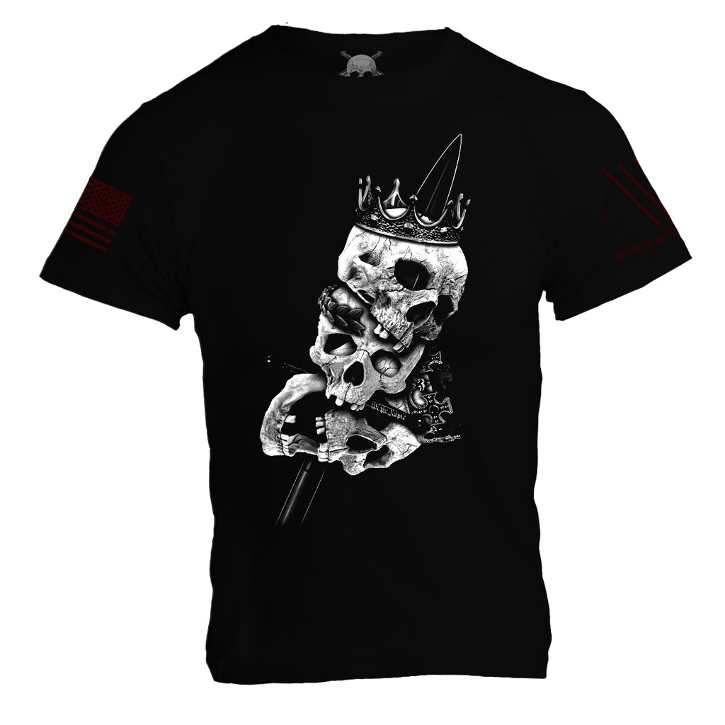 Heads of Kings - Black - Mens