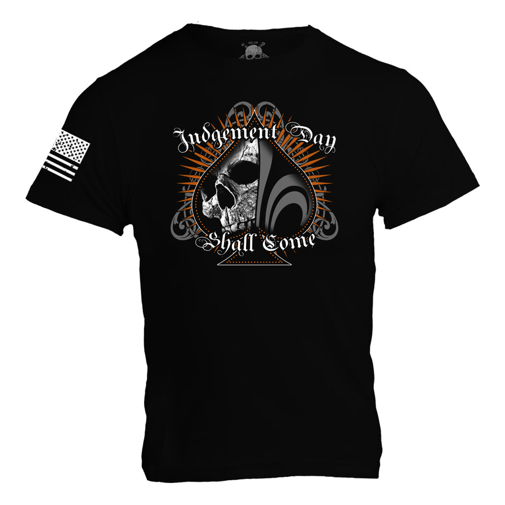 Judgement Day Shall Come / Ace of Spades- Black - Mens