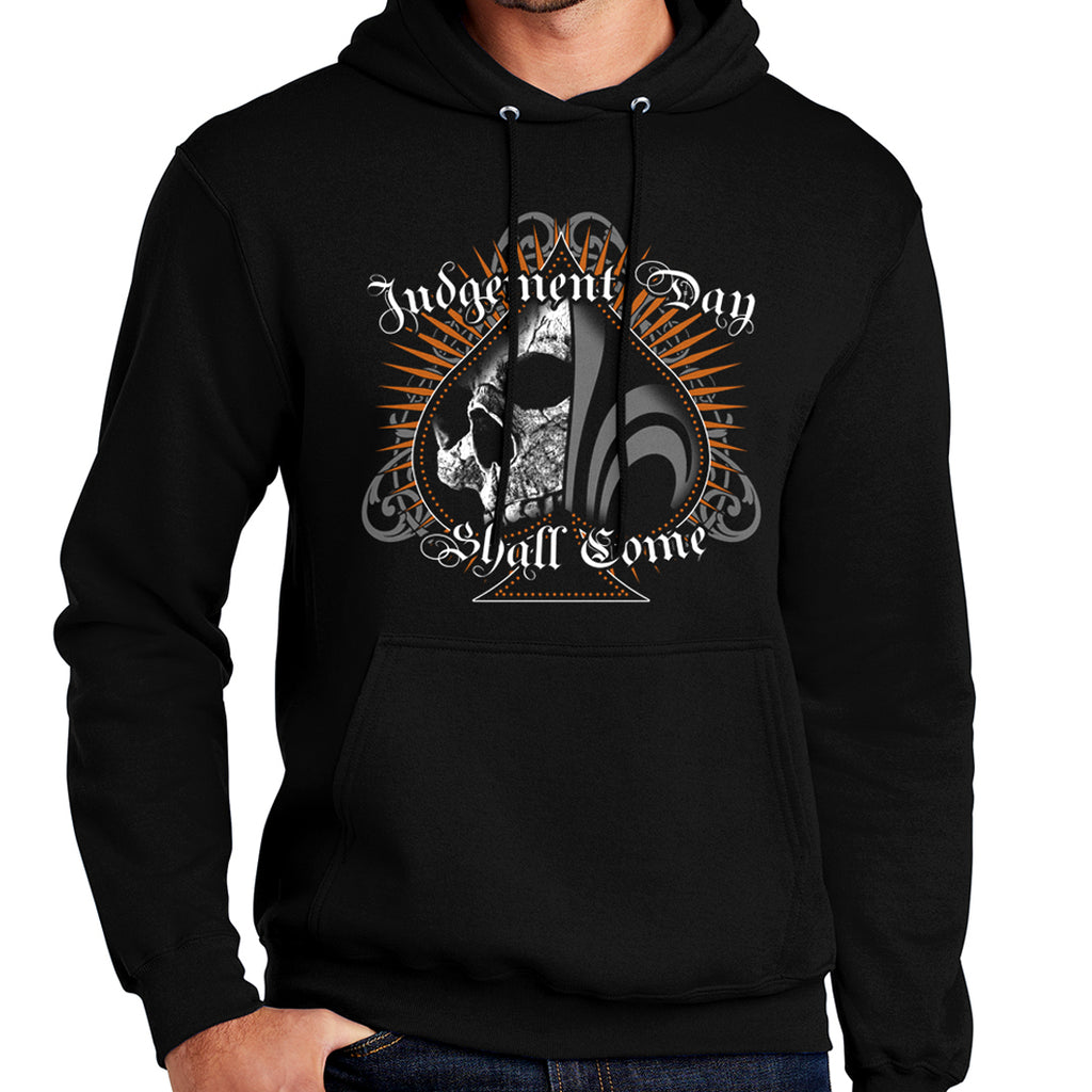 Judgement Day Shall Come / Ace of Spades - Pull Over Hoodie - Black