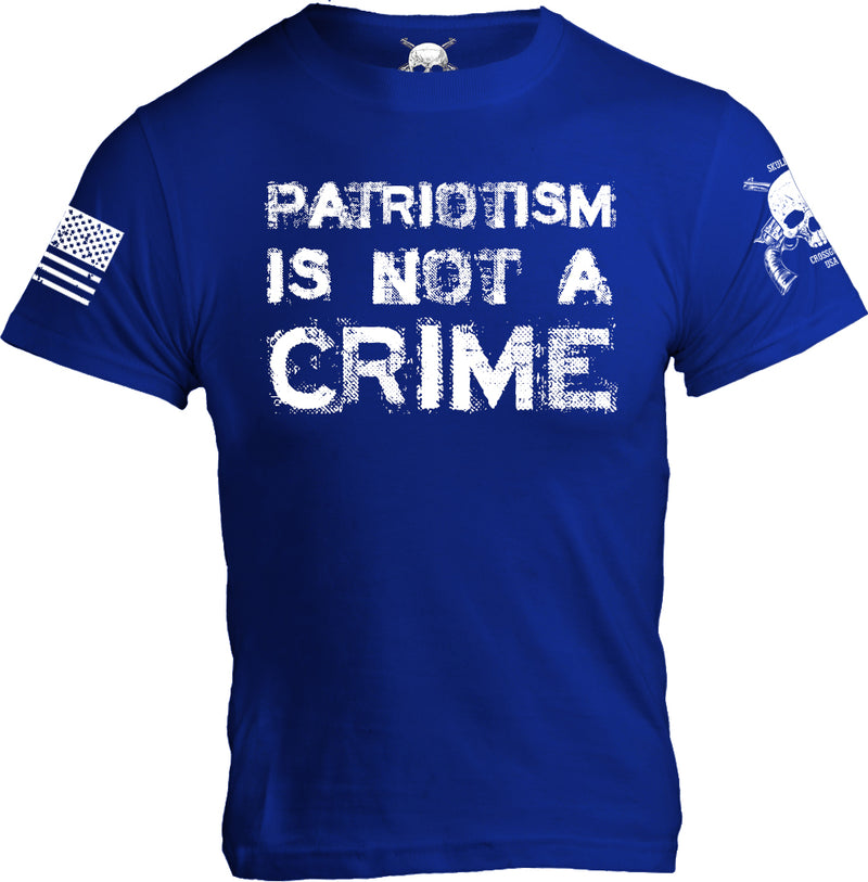 Patriotism Is Not A Crime - Mens on Blue