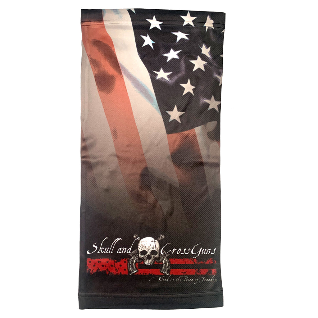 Blood is the Price of Freedom - Neck Gaiter (OSFM)