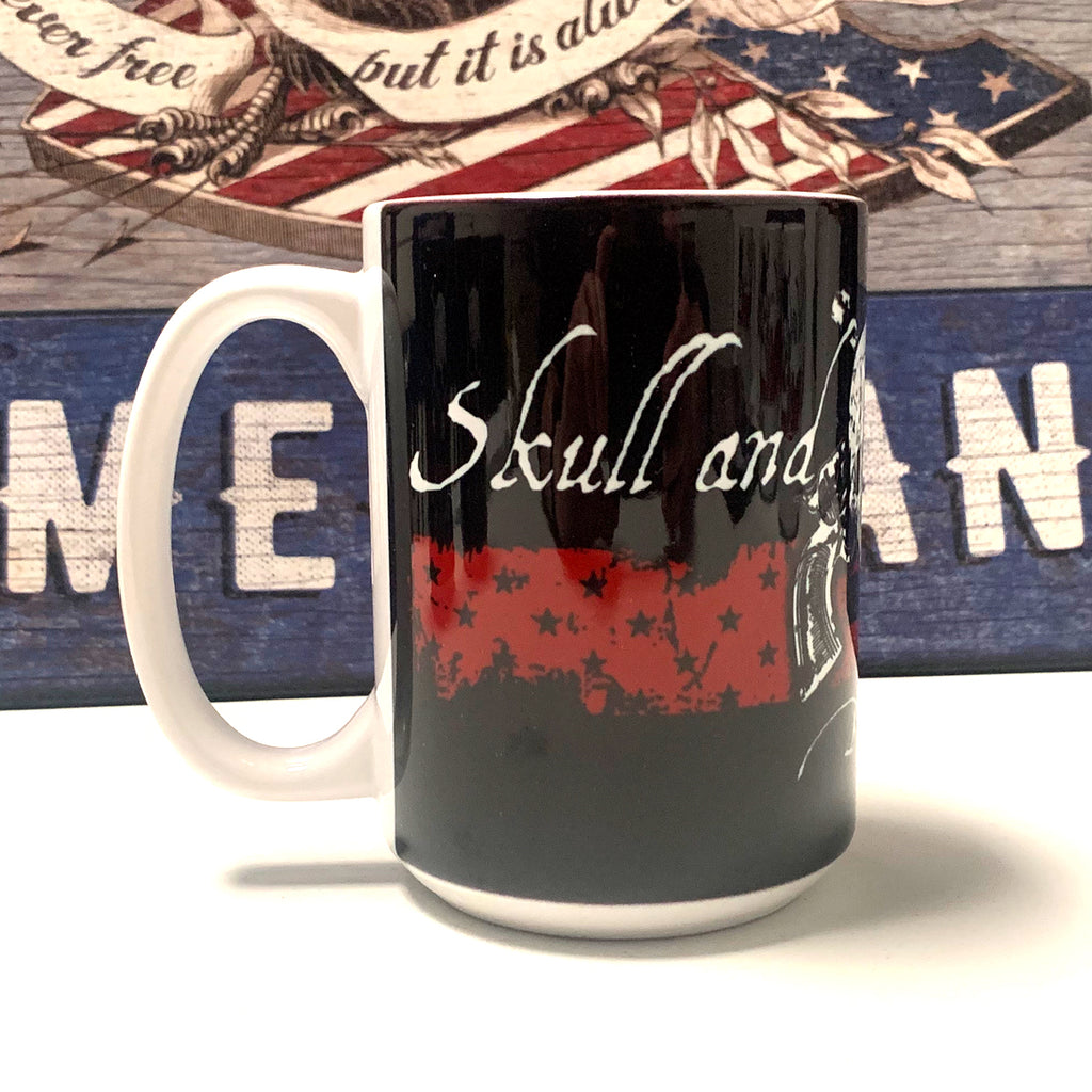 Blood is the Price of Freedom - 15 oz. Coffee Mug - Black  (ceramic)