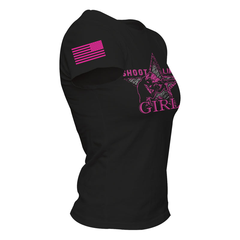 Shoot Like A Girl - Womens - Black