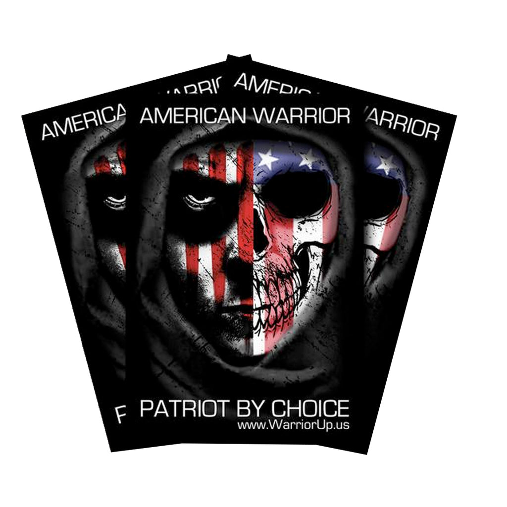 "Patriot 4"" x 6"" Window Sticker"
