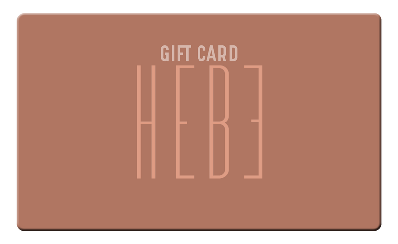 HEBE E-GIFT CARD - HEBE Beauty