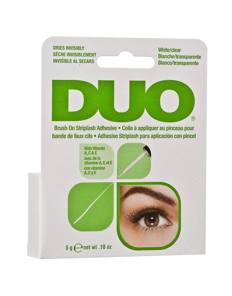 DUO Brush-on Adhesive Clear with Vitamins A, C & E - HEBE