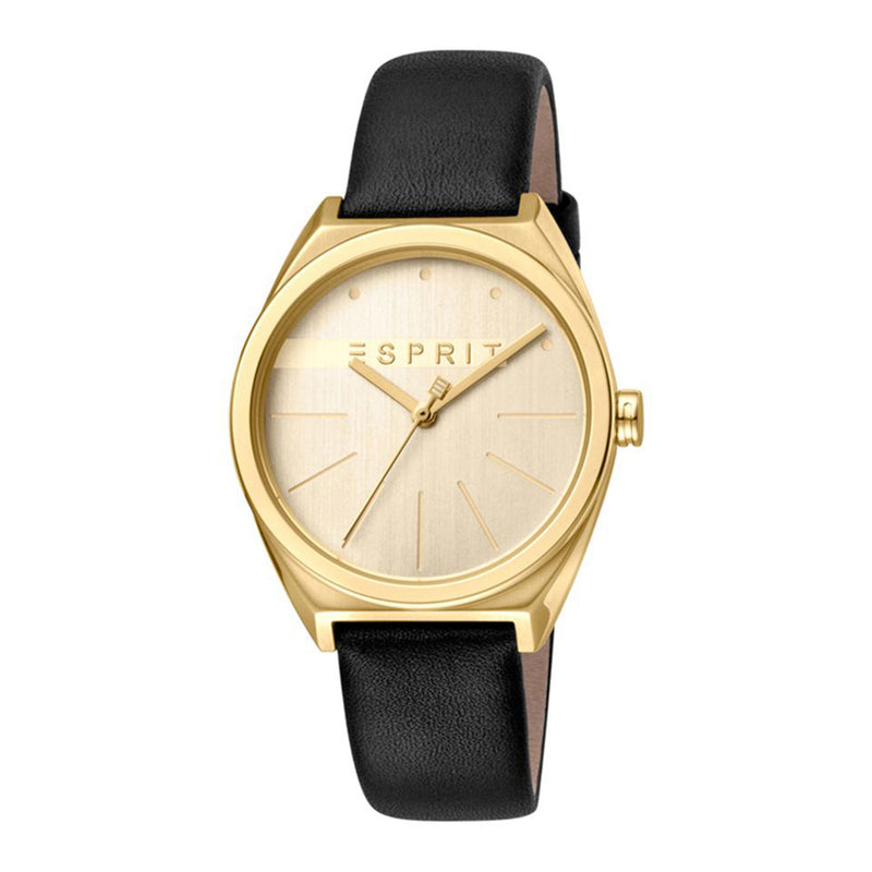 Esprit ES1L056L0025 Slice Gold Black Damenuhr