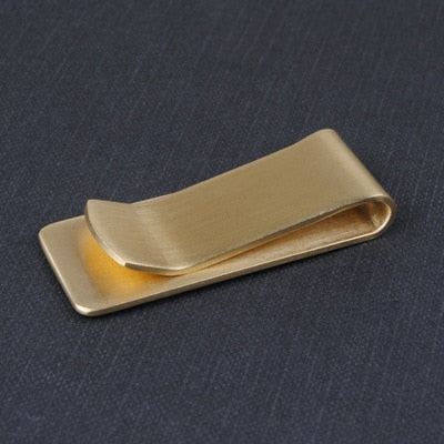 Brass Metal Money Clip
