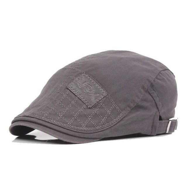 Mens Hat Solid Cotton Cap