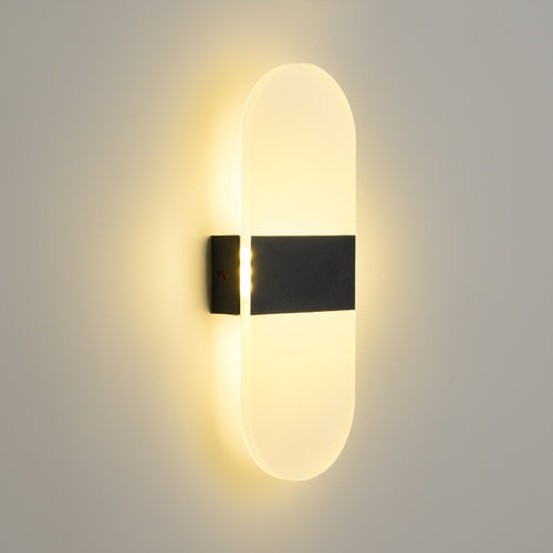 Acrylic led wall lamp