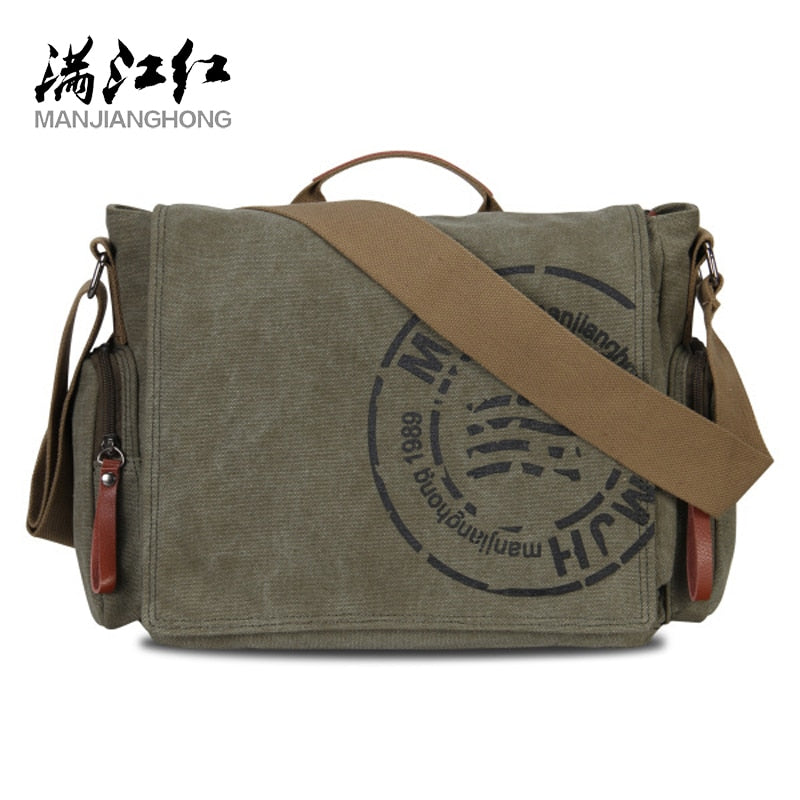 Canvas Men's Briefcase