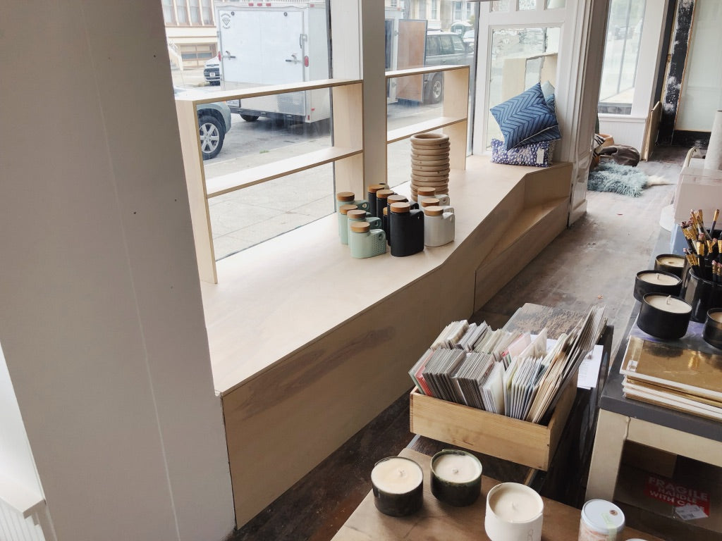 Yonder SF Sunset San Francisco Retail Millwork by Good Wood