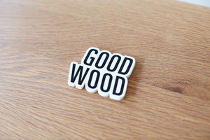 Good Wood Sticker