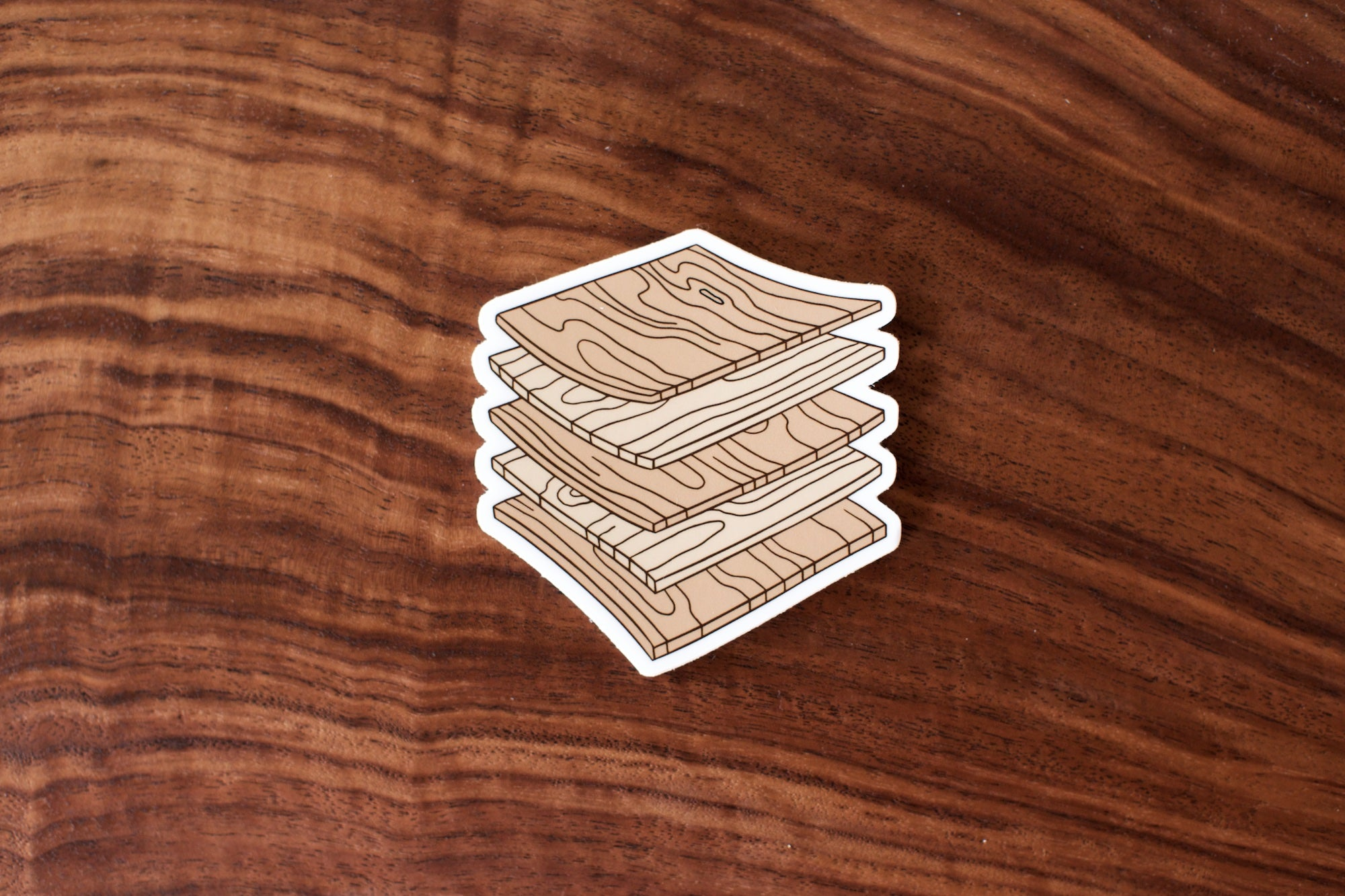 Plywood Sticker
