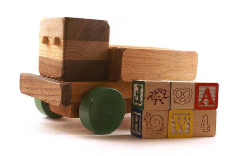 ABC Truck with Alphabet Blocks