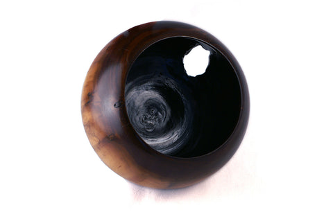 Hand Turned Black Walnut Bowl