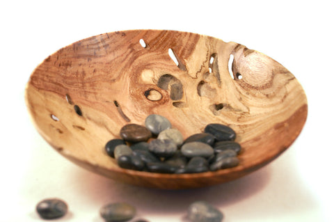 Hand Turned Honey Locust Bowl