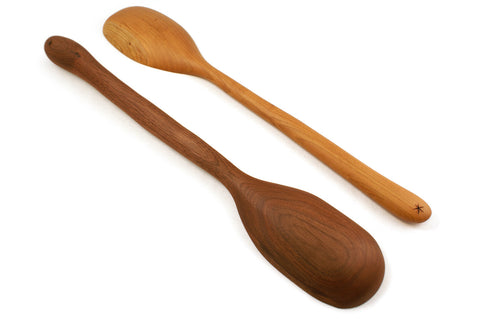 Extra Large Hand Carved Serving / Stirring Spoon