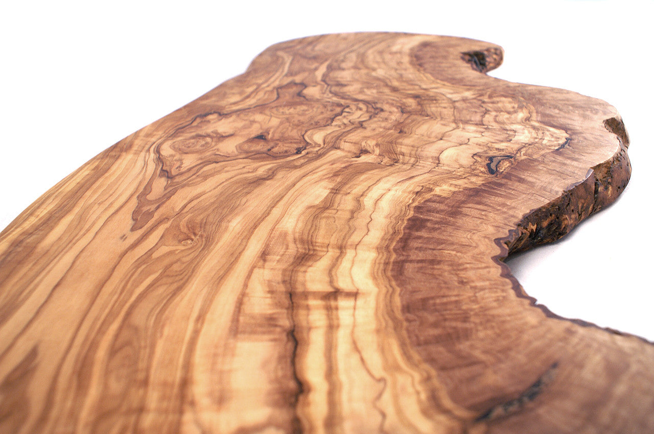 Olive Wood Extra Large Rustic Serving Board Wholesome Digs