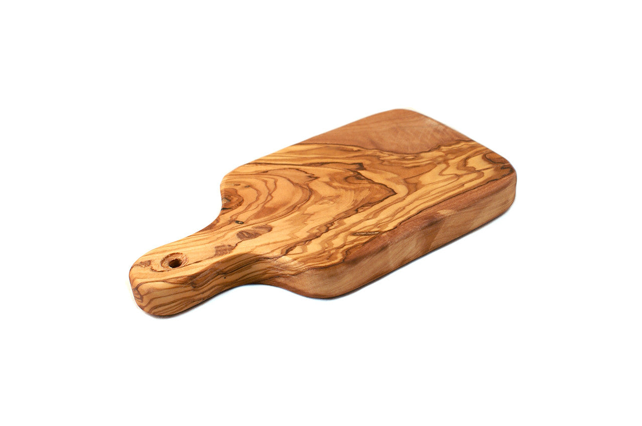 Olive Wood Cutting Board With Handle Wholesome Digs