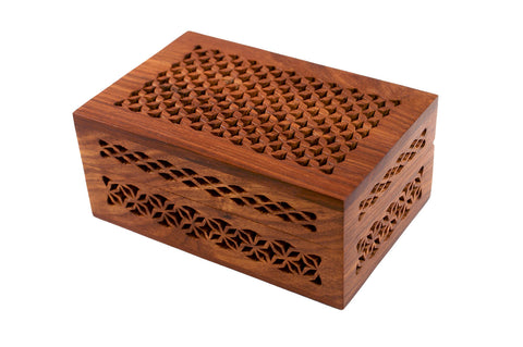 Rosewood Cutwork Box
