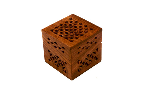 Rosewood Cutwork Small Box