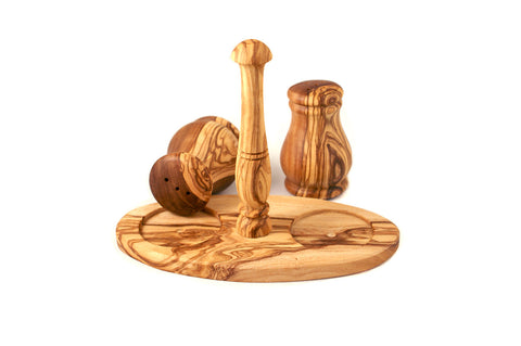 Olive Wood Salt and Pepper Set