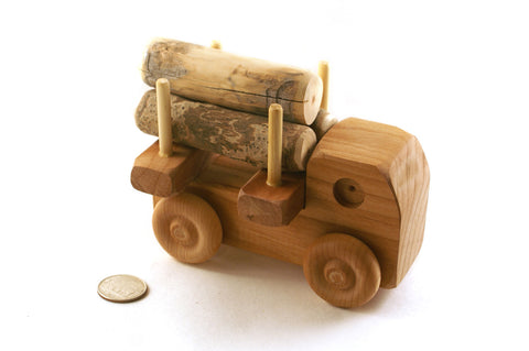 Small Logger Truck