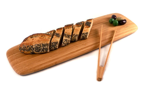 Classic Bamboo Cutting & Serving Plank