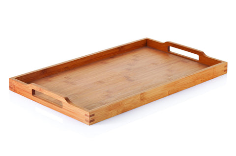 Large Bamboo Tray with Handles