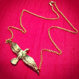 Seagull Spirit Animal Necklace